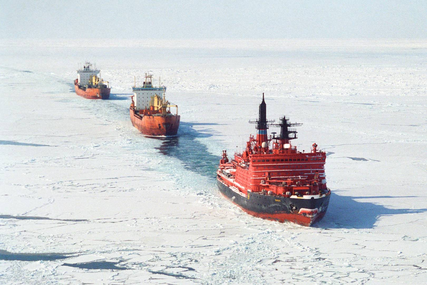 As the Arctic melts, China and Russia struggle for control