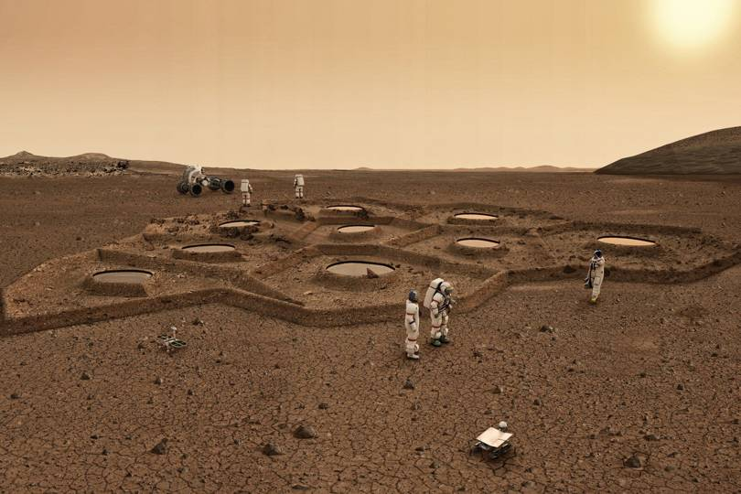 Concept for underground Mars habitat marks dawn of Martian ...