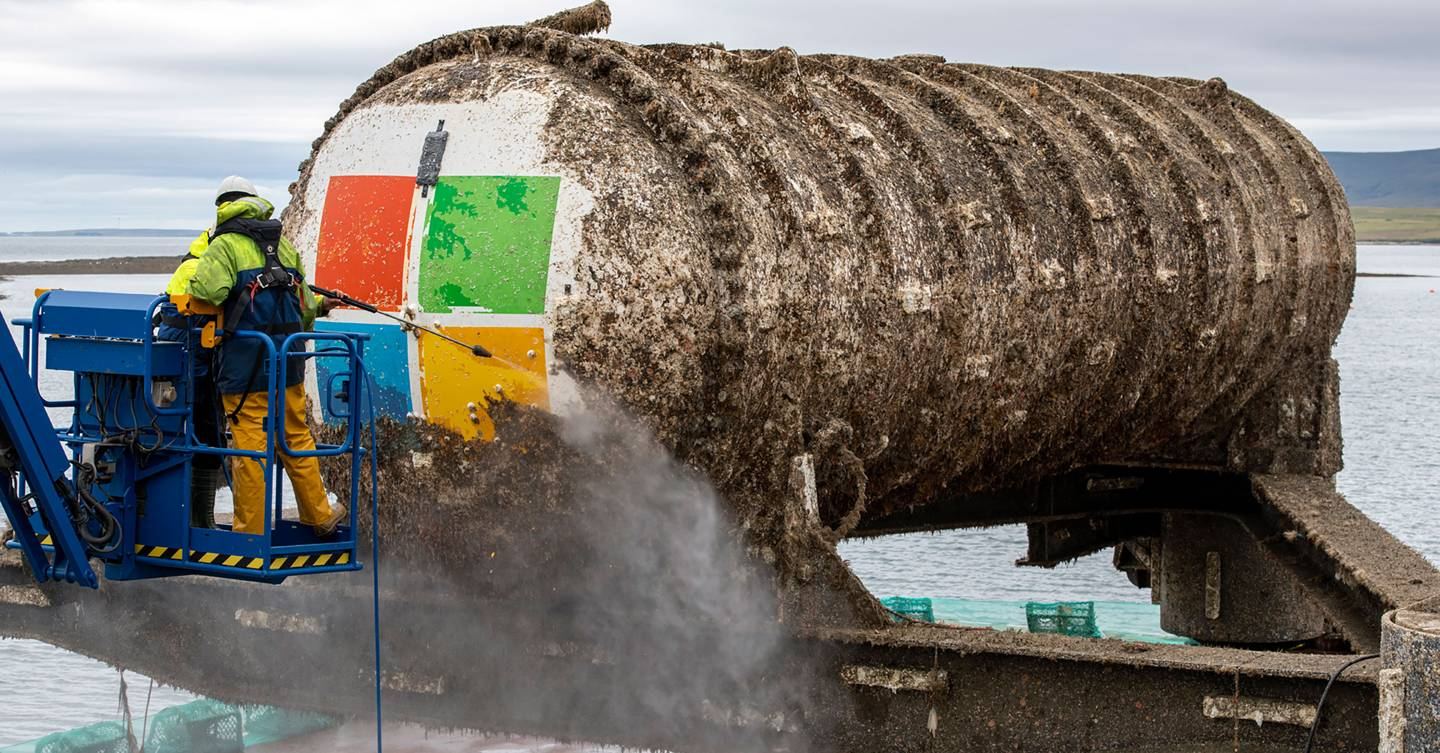 Turns out dumping data centres in the ocean could be a good idea