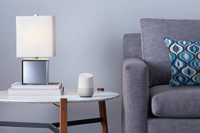 The artificial intelligence based Google Home speaker