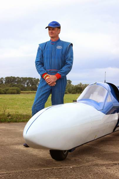 Richard Brown with Jet Reaction at Elvington Airfield in Yorkshire, England