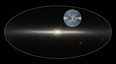 X marks the spot: tweet leads to bulge of stars being spotted in the Milky Way