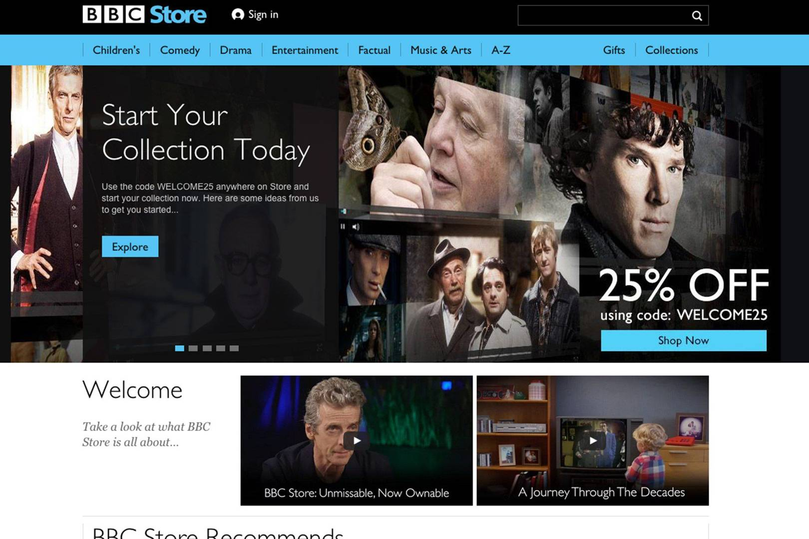 BBC launches a paid downloads store built into iPlayer