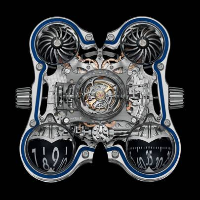 transparent watch MB&F HM6 SV