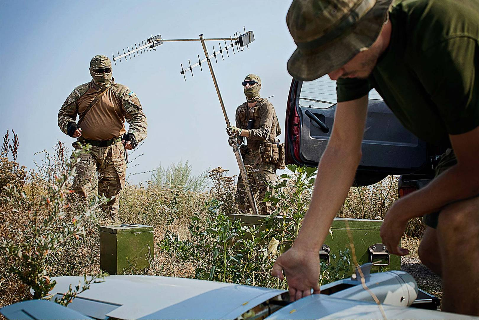 Ukrainian combat drone Commander