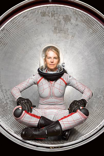 Dava Newman's designs put the squeeze on astronauts -- and save them precious energy