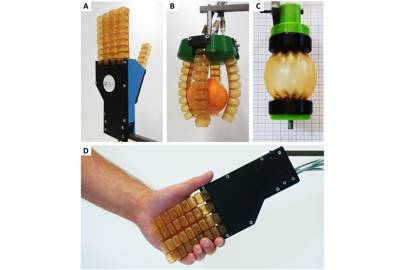 Soft Robotic components at work