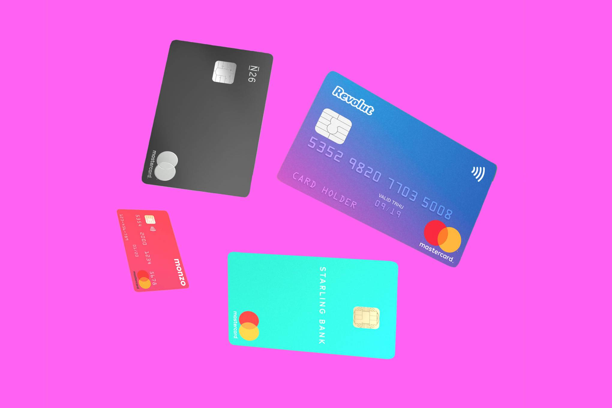 How Monzo, Revolut, Starling and N26 plan to topple legacy