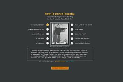 How to dance properly