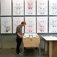 Sam van Doorn's STYN pinball print machine