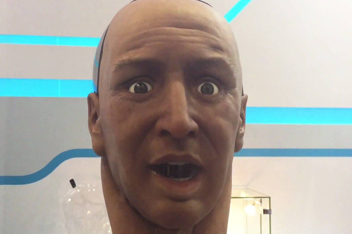Han Is A Spookily Realistic Humanoid Robot Wired Uk