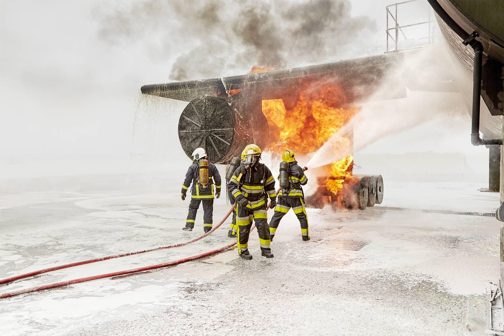 Firefighter jokes short