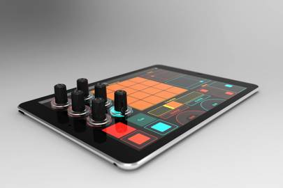 Attachable knobs for iPads are music to bedroom DJs' ears