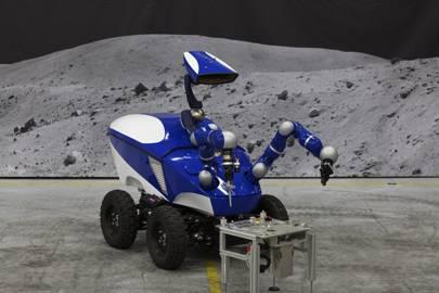 The Interact Centaur rover