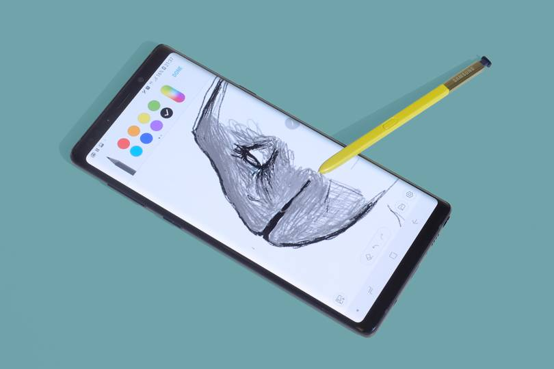 Samsung Galaxy Note 9 review: a great phone blighted by Bixby | WIRED UK