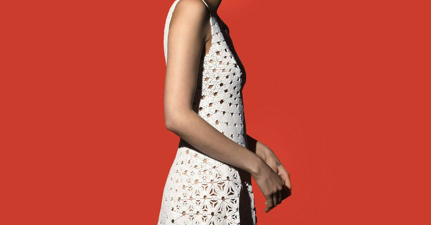 Nervous System's 3D-printed dress flows like fabric | WIRED UK