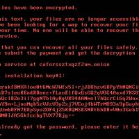 Bad Rabbit ransomware note