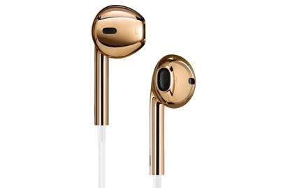 18K solid rose gold Apple EarPods; Edition 01/01