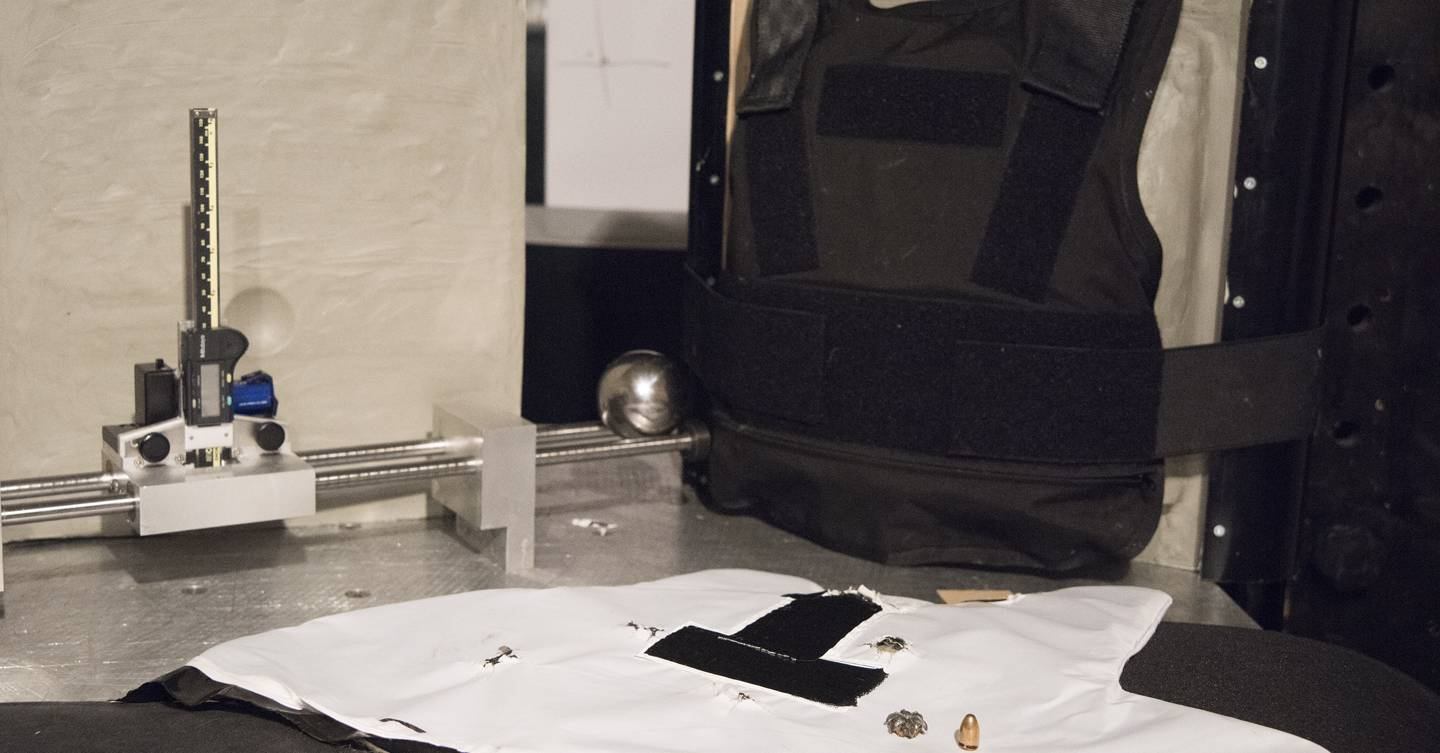 Stab, shoot and slash: inside the lab testing UK police body armour