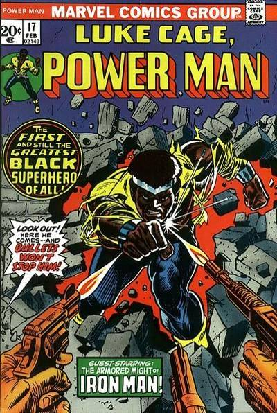 Luke somewhat reluctantly took the codename 'Power Man', but is still better known by his regular name