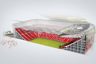 Manchester United's stadium gets a high tech upgrade