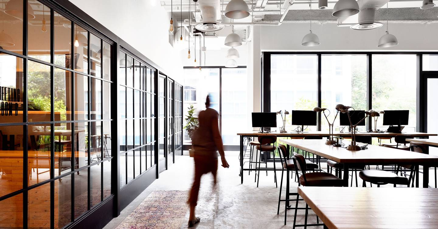 As WeWorks lie empty, coworking spaces face their day of reckoning