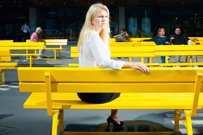Elina Berglund, Swedish particle physicist