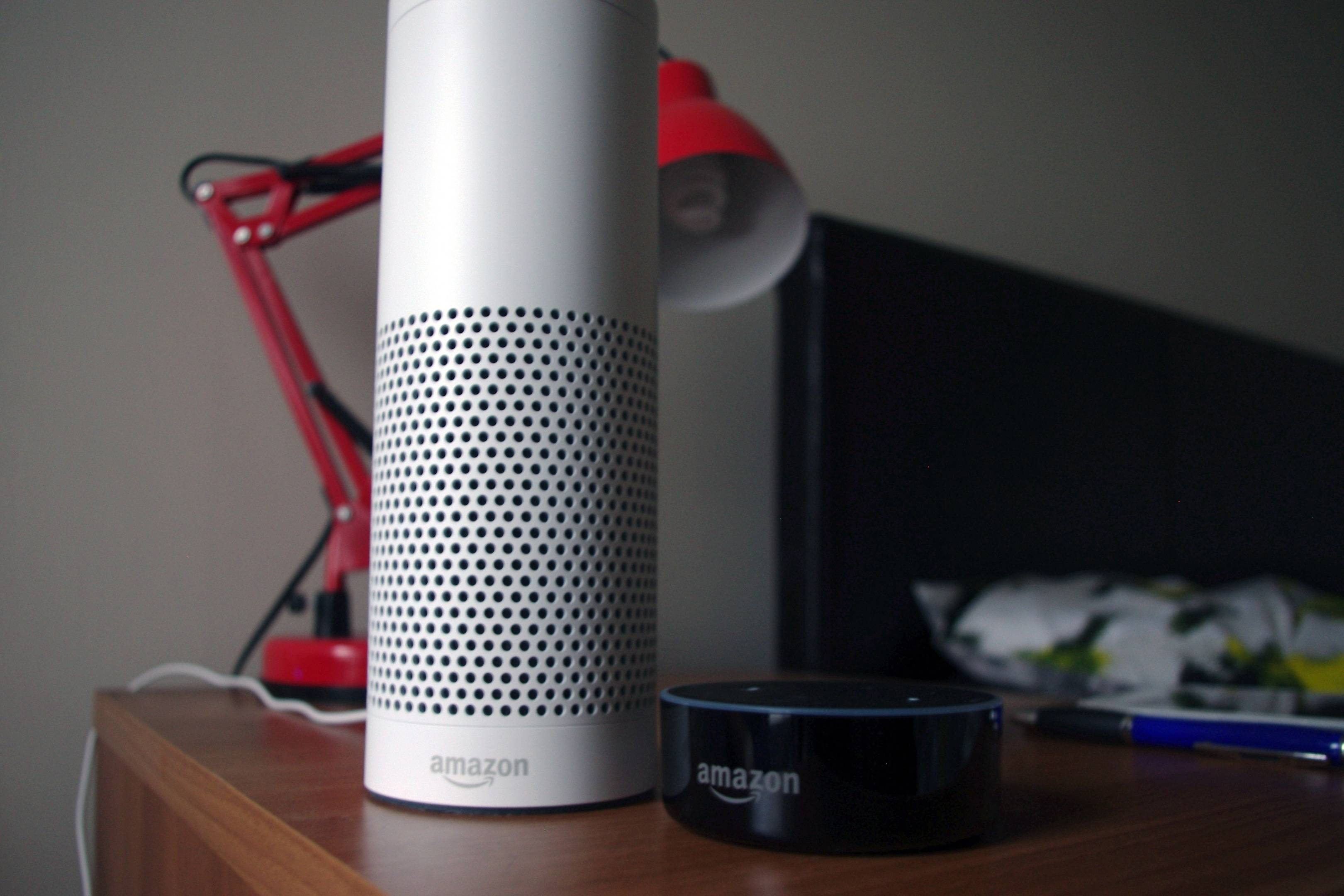 amazon echo and amazon dot review alexa connects well to devices