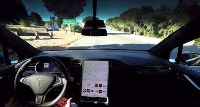 tesla announcement on self driving cars reveals autonomous model 3 features wired uk. Black Bedroom Furniture Sets. Home Design Ideas