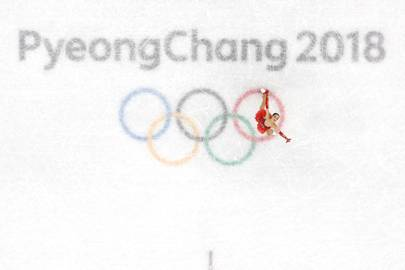 Alina Zagitova of Russia competes under a neutral flag during the Ladies Single Skating Free Skating on day fourteen of the PyeongChang 2018 Winter Olympic Games at Gangneung Ice Arena on February 23