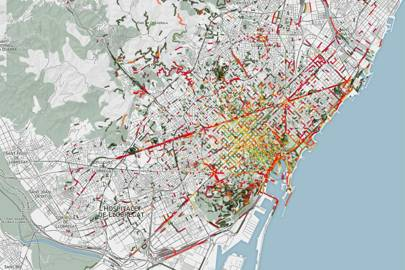 Barcelona: nature and emissions scents