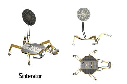 The 3D print lunar bases giant Nasa spider robots could build using microwaves