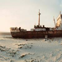 Desertification of the Aral Sea