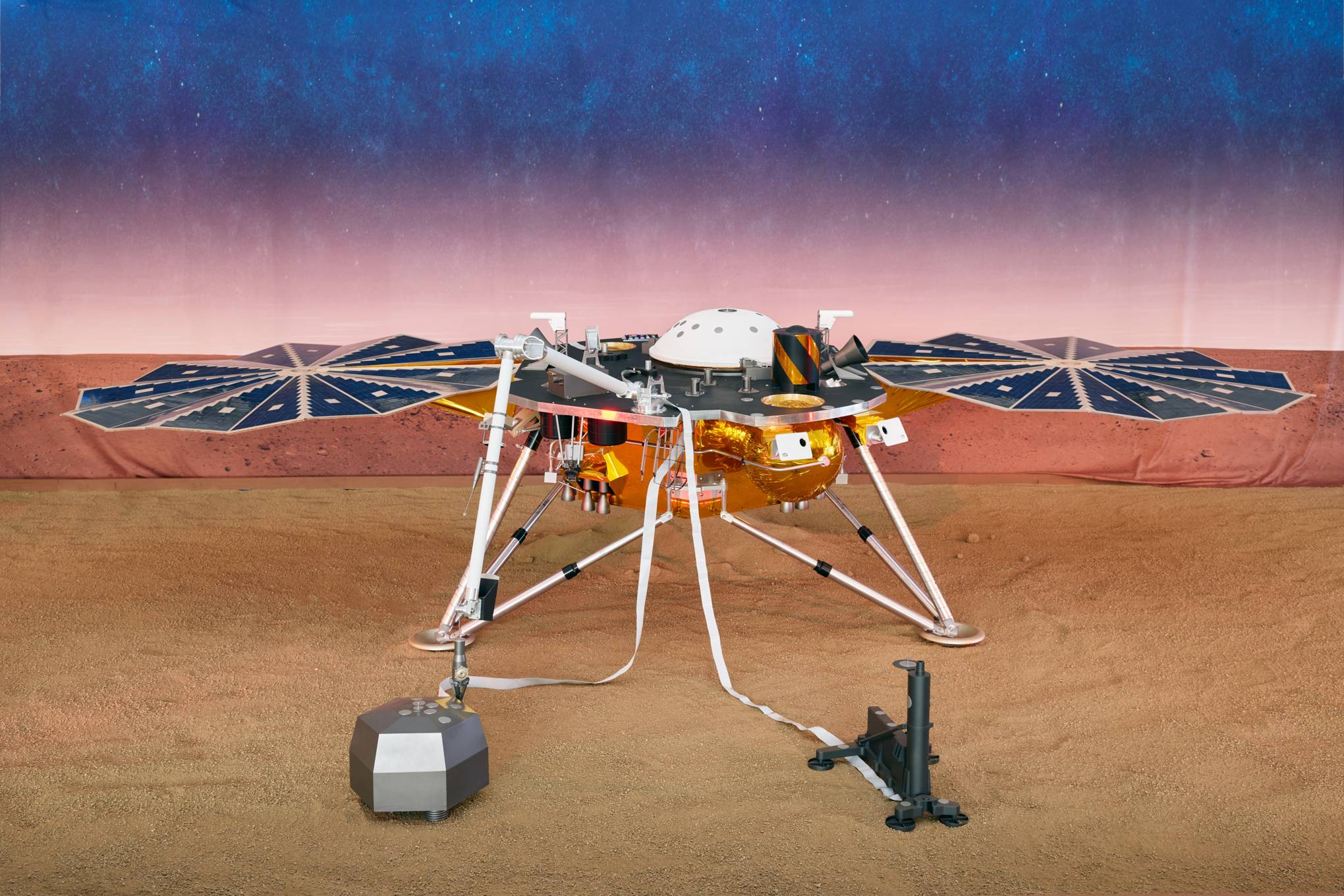 Wednesday briefing: Nasa InSight has detected its first marsquake
