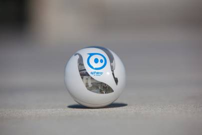 The new Apple-only transparent Sphero