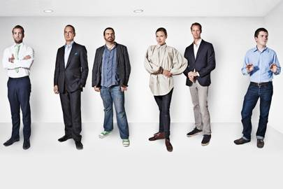 Paul Hawtin, Derwent Capital Markets; John Fingleton, J Fingleton Associates; John Lunn, PayPal; Anne Pascual, IDEO; Jacob de Geer, iZettle; John Collison, Stripe