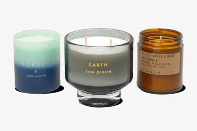 Skandinavisk Nordlys candle