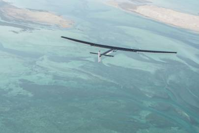 Solar Impulse 2 in flight