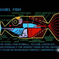 The Babel Fish from the Hitchhiker's Guide to the Galaxy