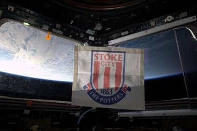 Tim Peake Stoke city