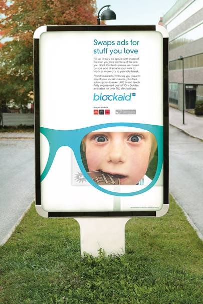 Blockaid, the app that replaces outdoor ads with consumers' own glanceable content streams, has topped the 2024 Retinals app chart