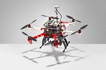 Flying pet quadcopter