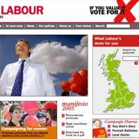 Labour Party website, 2005