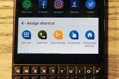 BlackBerry's KEY2 has a physical keyboard and we have no