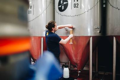 Seb Brink, head brewer at North Brewing Co in Leeds, started out as a home brewer