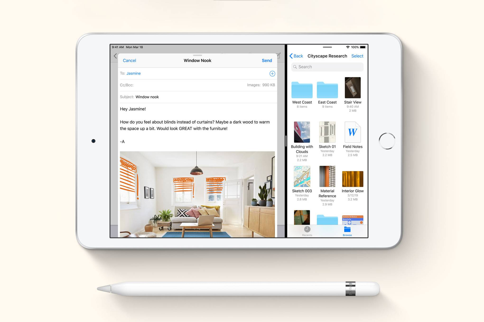 Apple's new iPad Air and iPad mini make space for its