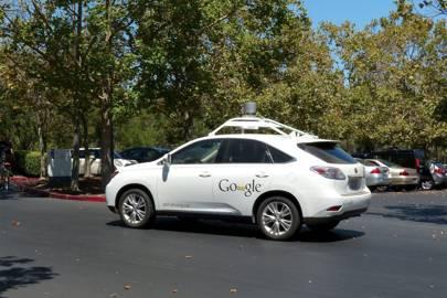 One of Google's self-driving fleet