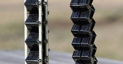Mit S Solar Cell Towers Double Power Output Of Flat Panels