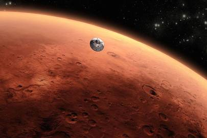 Colonising Mars could put astronauts at 'risk of chronic dementia'