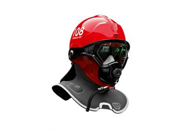 The C-Thru Smoke Diving Helmet